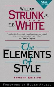 Strunk and White The Elements of Style